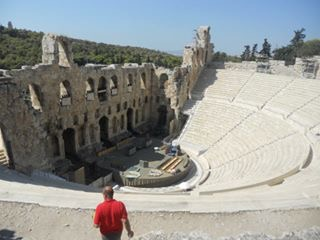 One of the first amphitheaters