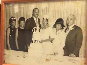 My Grandma and Grandpa on their wedding day